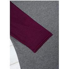 Casual Raglan 3/4 Sleeve T-Shirt
