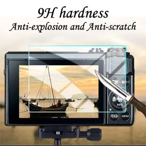Lifetime Replacement Warranty ScreenPatronus Compatible with Sony HDC-CH7 Digital Camcorder Anti Glare Screen Protector