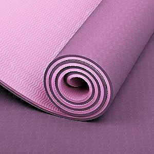 yoga mat exercise mat workout mat for yoga home gym fitness mats for women men