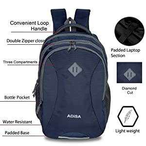 strong durable high quality computer bag strong light mature bag