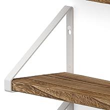 white shelves brackets floating shelves brackets wood shelves wooden shelves for wall bathroom shelf