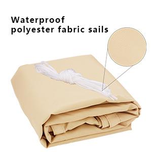 waterproof shade sail