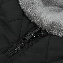 Petit Manteau imperméable pour Chien Veste d'hiver rembourré matelassé Doudoune pour Chien Pet Chiot