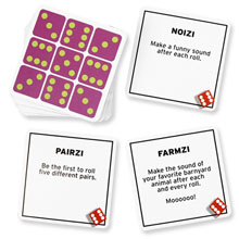 77 Ways to Play TENZI 3 types of dice games. Fast dice games, pattern games, non-speed games
