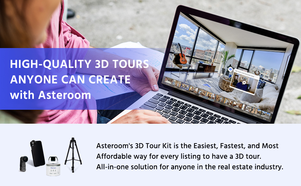 virtual tour kits for real estate agents