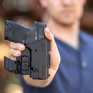 pocket holster shield smith wesson sig sauer glock 43 iwb small subcompact front hellcat fn holding