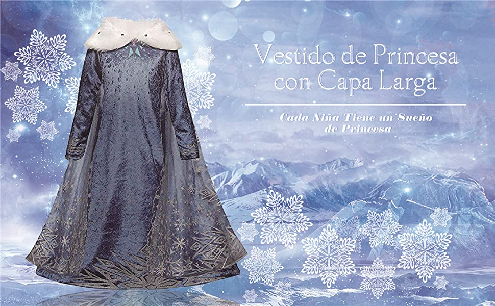 Princesa Plástico Reina De La Nieve Plata Tiara Navidad Fancy Dress
