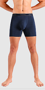 Separatec men's underwear with 6.5 inches long leg length can prevent riding up issue effectively