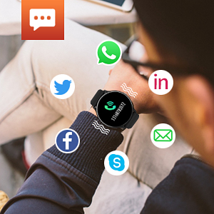 smart watch with notifications