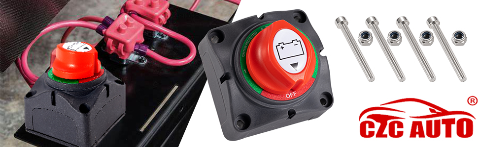 CZC AUTO Battery Disconnect Switch