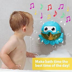 octopus bubble bathtub machine