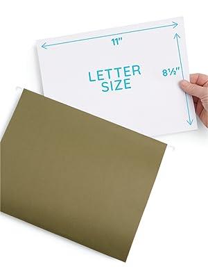 "2"" Expanding File Folder for Letter Size Documents"