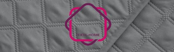 Textilhome - Funda Cubre Sofá Circus, 3 Plazas, Protector para Sofás Acolchado Color Gris: Amazon.es: Hogar