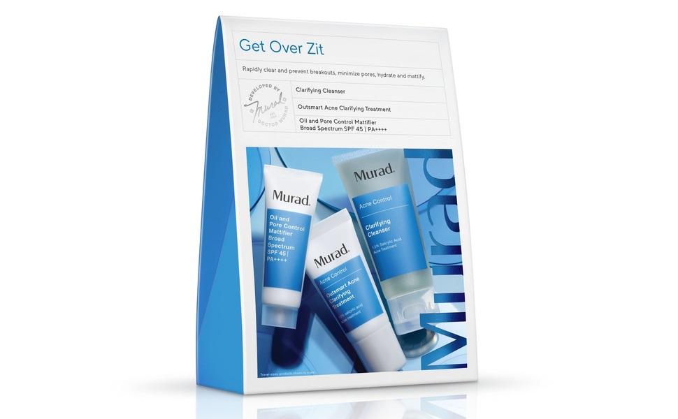 Murad Get Over Zit 3-Piece Acne Control Regimen