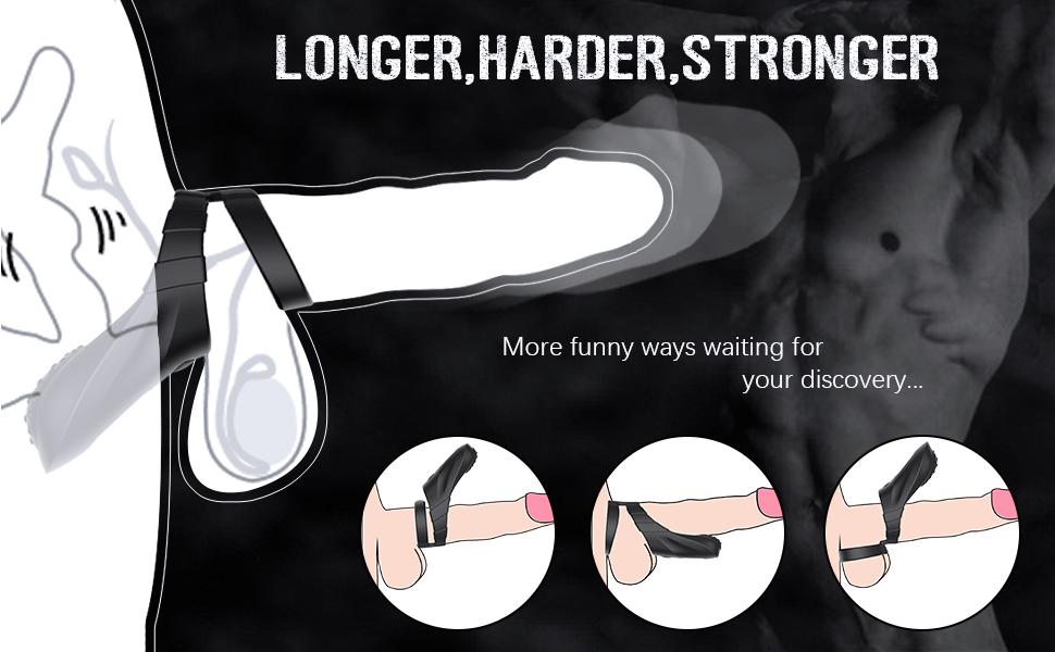 Sohimi penis massager makes the penis larger and erect longer