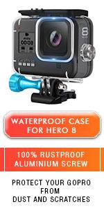 Hero 8 waterproof housing