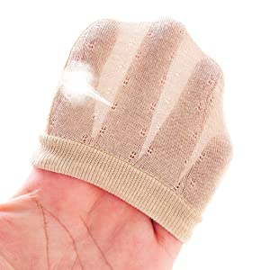 newborn mittens with breathable mesh design