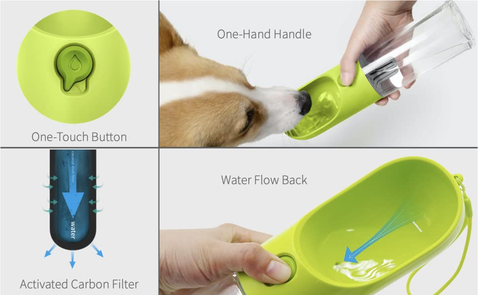 WATER BOTTE FOR DOGS TRAVEL