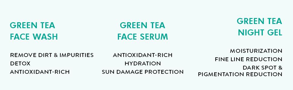 remove dirt impurities detox antioxidant rich hydration sun damage protection moisturization