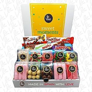 chocolatinas gominolas golosinas chocolate kinder bueno valor huesito regaliz