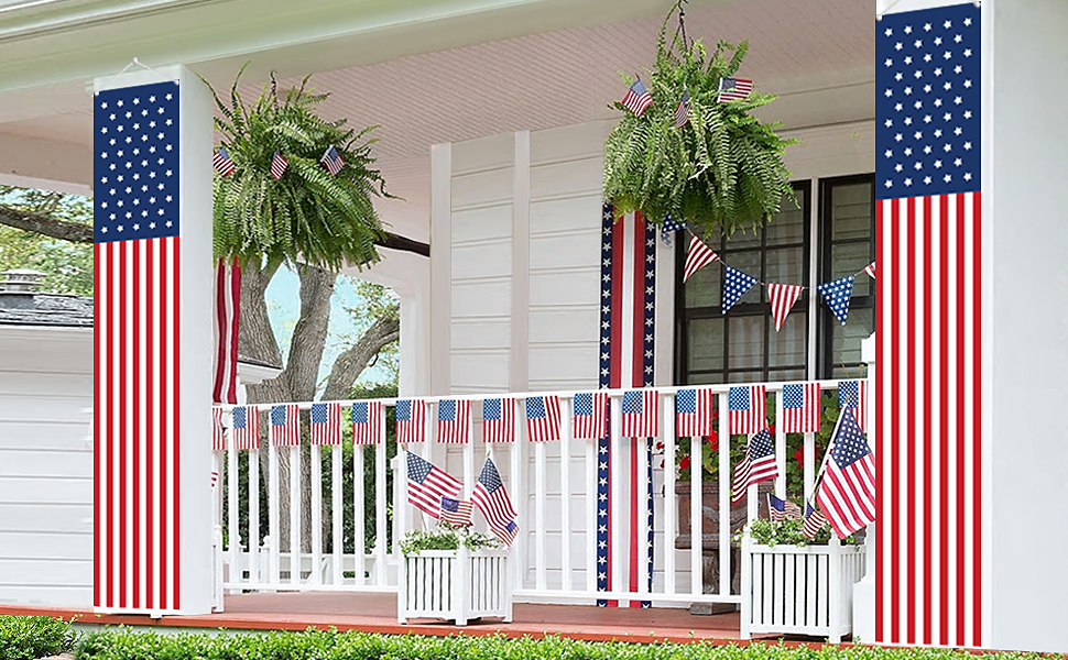 Patriotic Decorations for Labor Day