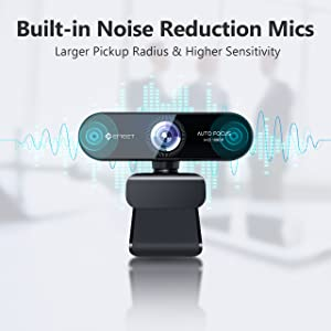 webcam with microphone for desktop