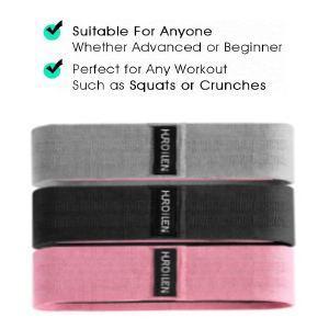 cloth resistance bands cotton resistance bands hip bands work out band
