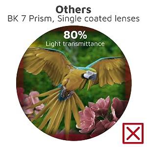 BAK 4 binoculars VS BK7 binoculars