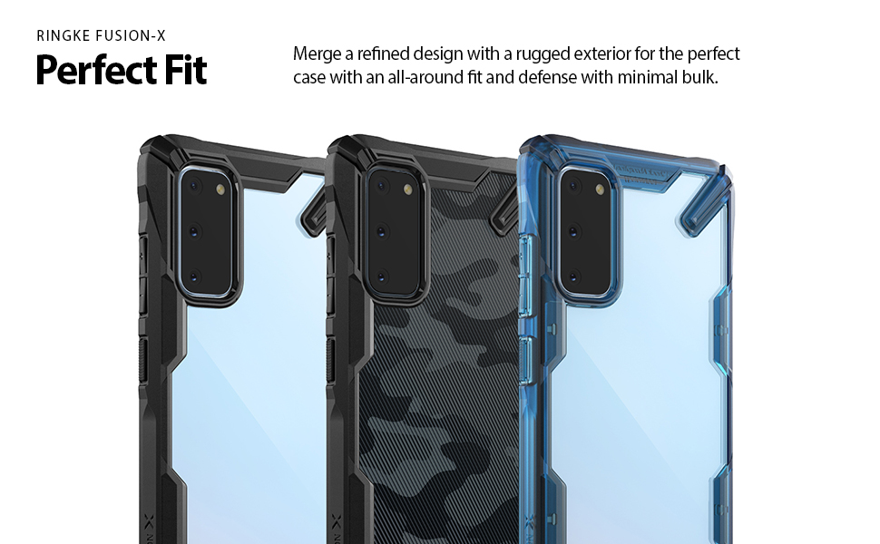 Ringke Fusion X Case Designed for Galaxy S20 5G (2020)