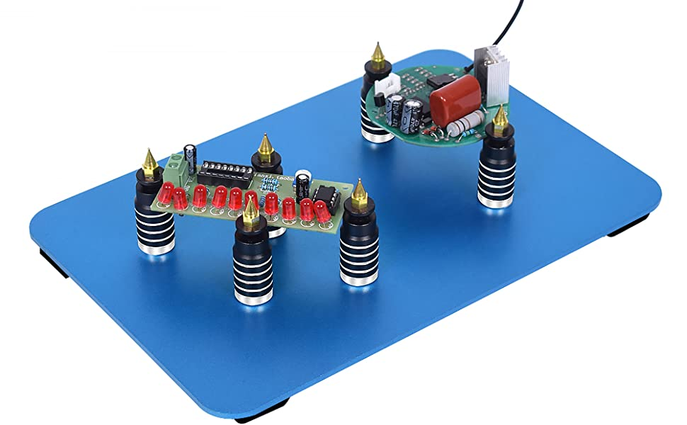Insulation Magnetic Board Clip Circuit Board Holder Fine Workmanship Plastic Spraying Jewelry Makers for Soldering