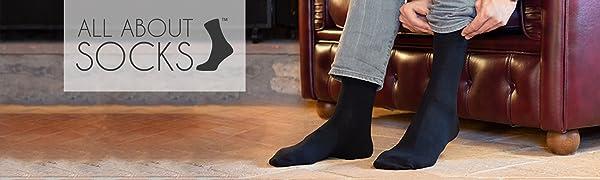Made in Europe ALL ABOUT SOCKS Calze Uomo e Donna neri 10 paia OEKO-TEX 100 Calze di cotone - Calze da Uomo per lavoro e tempo libero