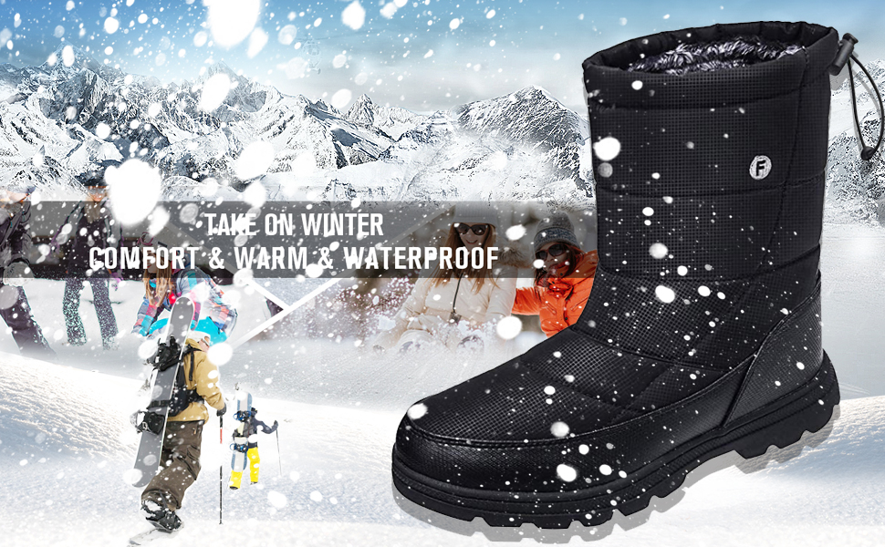 snow boots for mens