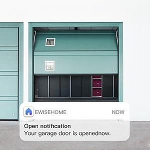 smart garage door alexa