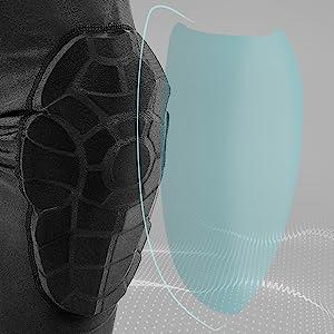 Anti-Collision Design Elbow Pads