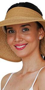 topless sun hat visor sun hat visor for women wide brim adjustable hat beach hat gardening hat