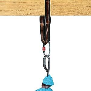 aerial yoga hammock accessories rigging hardware inversion swing sensory therapy yoga trapeze