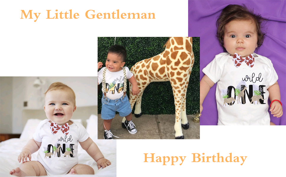 Cake Smash Outfit Baby Bloomers READY TO SHIP Giraffe Print Diaper Cover First Birthday Outfit Cotton Diaper Cover