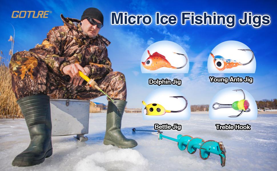 ice fishing jig ice jig ice fishing lure trout bass walleye lure