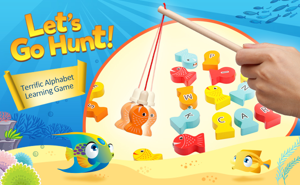 Floating Fish for Toddler Education Teaching and Learning Ocean Sea Animals