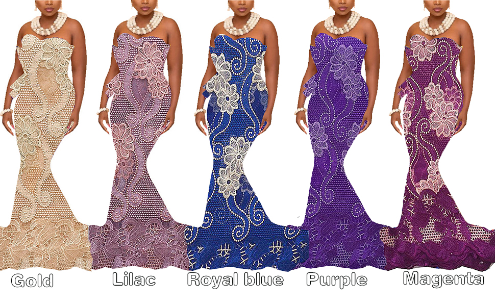 WorthSJLH Latest Net African Fabric Lace Gray Magenta Tulle African French Lace Fabric High Quality 2018 for Nigerian Wedding