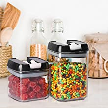 Airtight Cereal Containers Storage Set