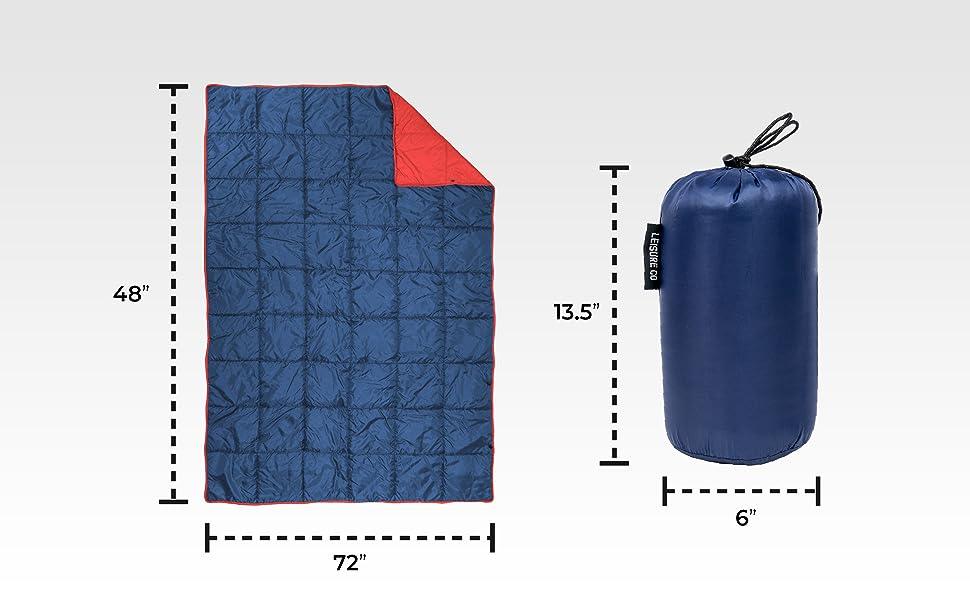 down blanket packable stadium blanket down camping blanket sleeping bag blanket compact blanket