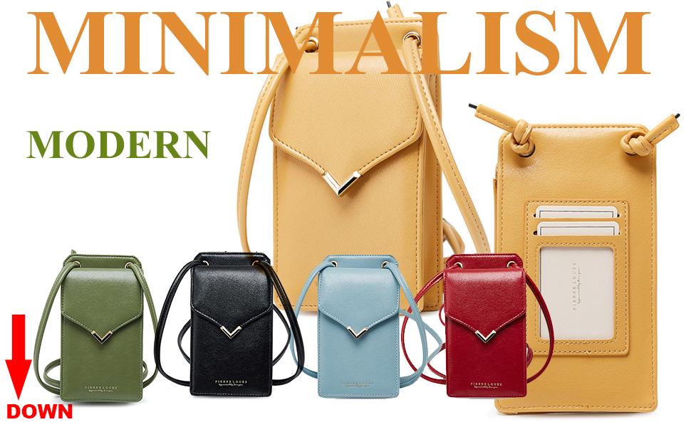 crossbody cellphone purse for women