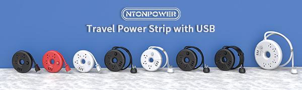 ntonpower travel power strip