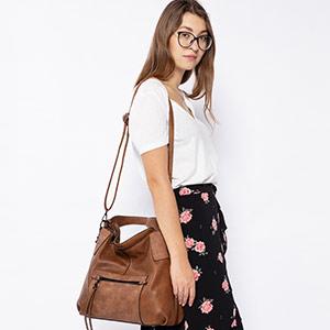 tan bags for women hobo bag crossbody bags over shoulder body large tan leather handbags brown