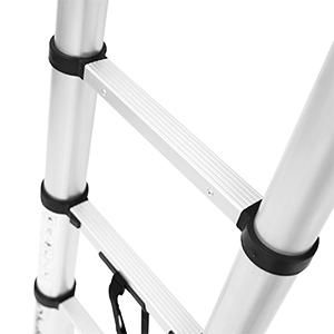 ohuhu telescopic ladder extension ladder heavy duty