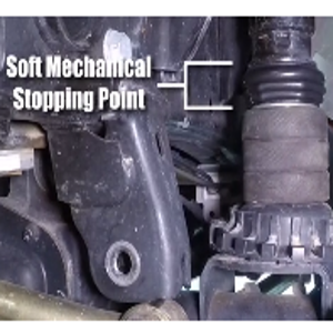 microcellular compression bump stop