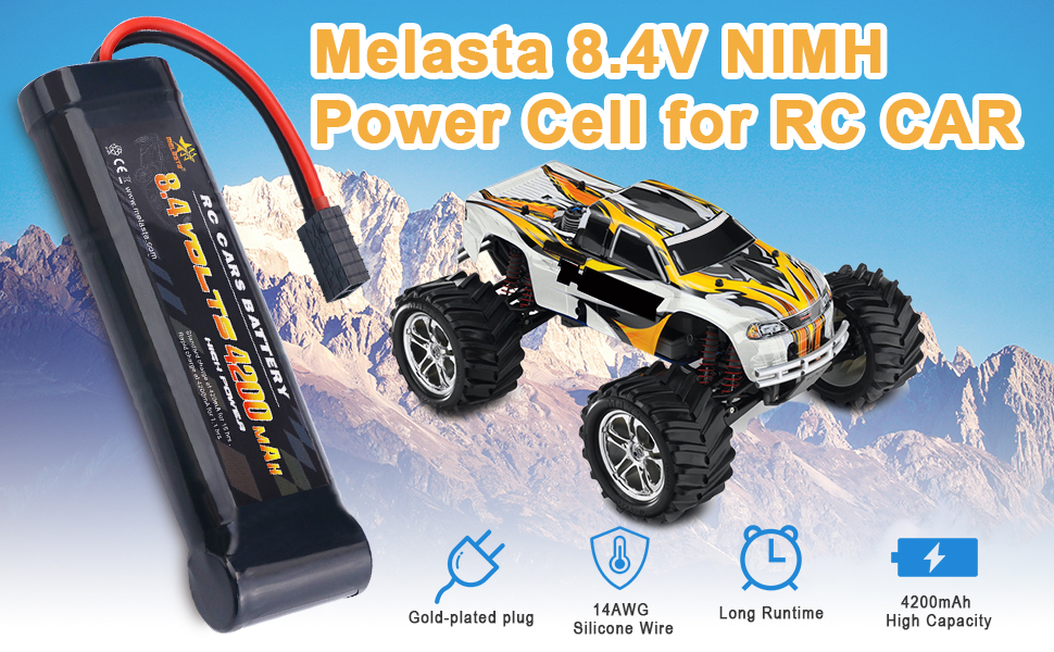 traxass rc battery 8.4v
