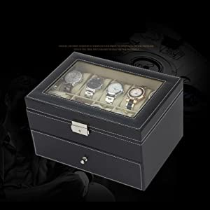 wrist watch organiser box