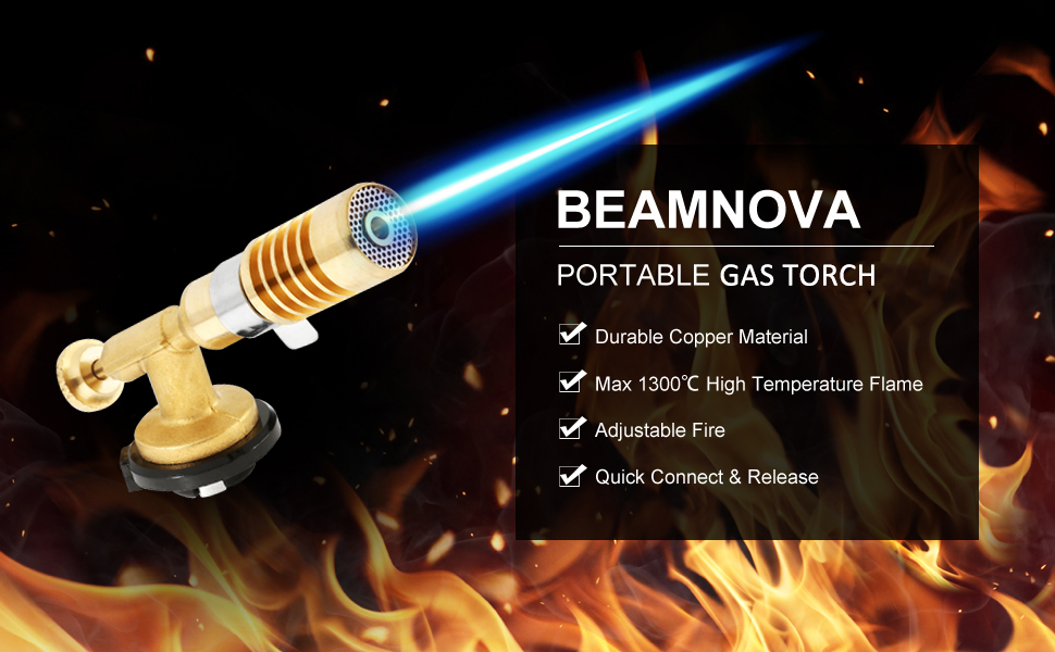 portable gas torch